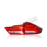 Honda City GM6 LED Sequential Signal Taillamp 14-19 (Audi Style V1)