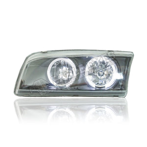 Mitsubishi Lancer Crystal Angle Eyes Headlamp 97-03