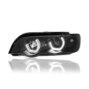 BMW X5 E53 Projector LED Headlamp 98-03 (Angle Eyes)