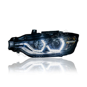 BMW 3 Series F30 Projector LED DLR Headlamp 11-15 (Pre-Facelift)