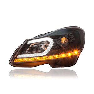 Mercedes Benz C-Class W204 Projector LED Headlamp 11-14 (Facelift)