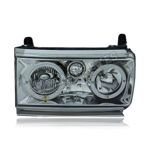 Toyota Land Cruiser FJ82 Crystal LED Headlamp 90-94 (Angle Eyes)