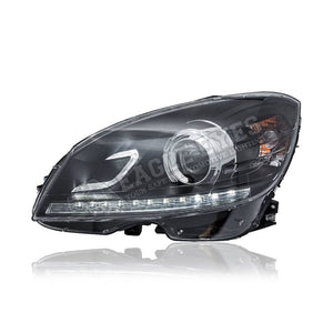 Mercedes Benz C-Class W204 Projector LED DRL Headlamp 07-11