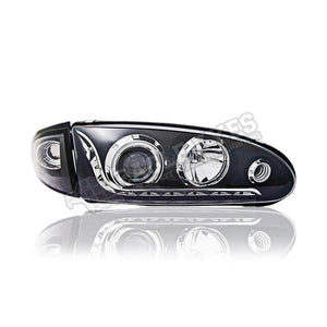 Proton Wira Projector LED DRL Headlamp 93-09