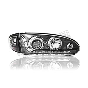 Wira Projector LED Starline Head Lamp 93-09