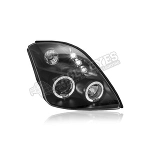 Suzuki Swift Projector LED Headlamp 05-11 (Angle Eyes)