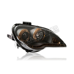 Proton Gen-2 Projector LED Starline Headlamp (Titanium) 06-13