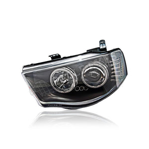 Mitsubishi Triton L200 Projector LED Cool Look Headlamp 05-14