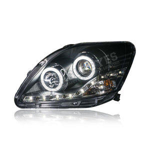 Toyota Vios  XP90 Projector LED DRL Headlamp (Extreme LED Ring) 07-12