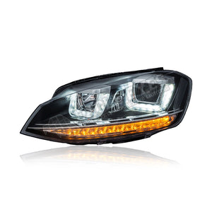 Volkswagen Golf MK7 Projector LED Headlamp 13-18 (U-Concept)