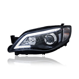 Impreza WRX Projector LED Light Bar Head Lamp 08~14