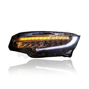 Honda Civic FC LED Sequential + One Touch Blue Headlamp 16-19 (V2)