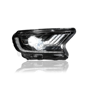 Ford Ranger T7 Projector LED DRL Sequential Headlamp 16-19
