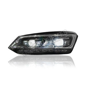 Volkswagen Polo/Vento Projector LED Sequential Signal Headlamp 09-18 (P Type)