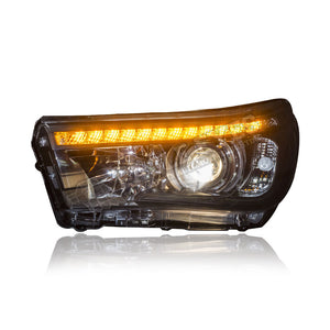 Toyota Vigo Hilux Projector LED Sequential Signal Headlamp 15-18