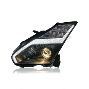 Nissan Skyline R35 Projector LED Sequential Headlamp 07-14