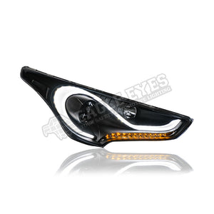 Hyundai Veloster Projector  LED Sequantial Signal Head Lamp 13-15