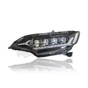 Honda Jazz GK6 Projector LED Sequential Signal Headlamp (White Demon) 14-17