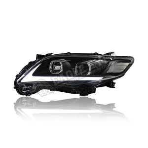 Toyota Altis Projector LED Light Bar Head Lamp 11-13