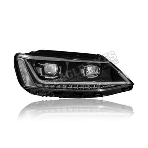 Volkswagen Jetta Projector LED Headlamp 11-18 (P Style)