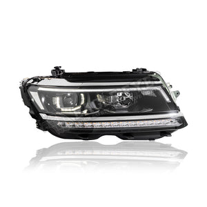 Volkswagen Tiguan Projector LED Sequential Signal Headlamp 17-19