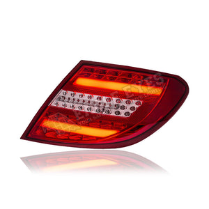 Mercedes Benz W204 LED Light Bar Tail Lamp 07-11