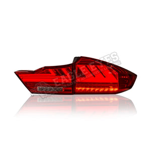 Honda City GM6 LED Sequential Signal Taillamp 14-19 (Lexus Style V2)