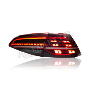 Volkswagen Golf MK7 LED Sequential Taillamp 13-17 (GTI 7.5 Style)