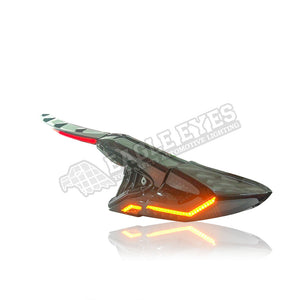Toyota C-HR LED Sequential Taillamp + Garnish Lamp 17-19 (V2)