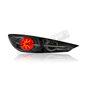 Mazda 3 LED Sequential Signal Tail Lamp 13-19