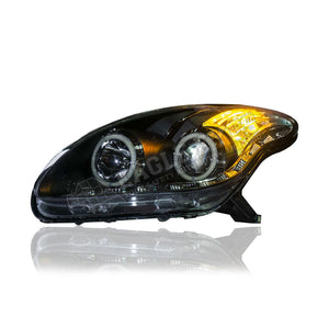 Perodua Myvi Projector LED DRL Headlamp (Extreme LED Ring) 05-11