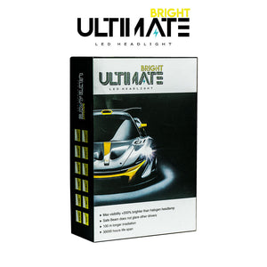 Ultimate Bright LED Bulb (H7) Tri-Color