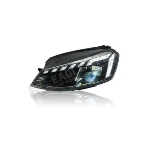 Volkswagen Golf MK7 Projector LED Sequential Signal + Welcome Light Headlamp 13-18