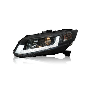 Honda Civic FB Projector LED DRL Headlamp 12-15