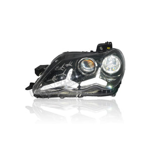 Toyota Reiz/Mark-X Projector LED Sequential Headlamp+One Touch Blue+Welcome Light 06-09