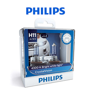 Philips Crystal Vision Bulb (H11)