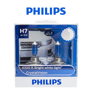 Philips Crystal Vision Bulb (H7)