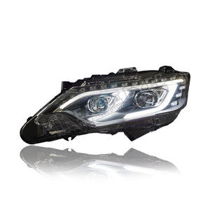 Toyota Camry Projector LED Light Bar Head Lamp With Sequential Signal 14-17