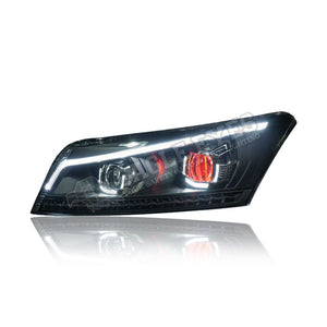 Honda Accord G8 LED Sequential Signal Headlamp 08-12 (Demon Eyes)