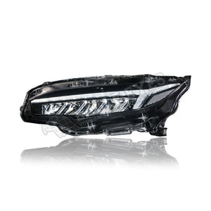 Honda Civic FC LED Sequential Signal Headlamp 16-19 (Audi Style)