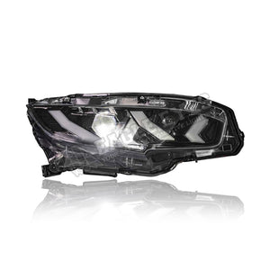 Honda Civic FC LED Sequential Signal + One Touch Blue Headlamp 16-19 (Lamborgini Style)