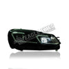 Volkswagen Golf MK6 Projector LED Sequential Headlamp 08-12 (G7.5 Design)
