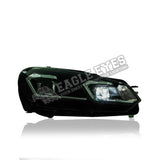 Volkswagen Golf MK6 Projector LED Sequential Signal Headlamp 08-12 (G7.5 Design)