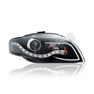 Audi A4 Projector LED DRL Headlamp 04-07