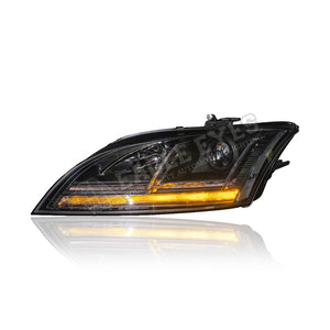 Audi TT Projecter LED Sequantial Signal Headlamp 06-13 (HID Spec)