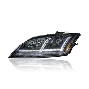 Audi TT Projecter LED Sequantial Signal Head Lamp (HID Spec) 06-13