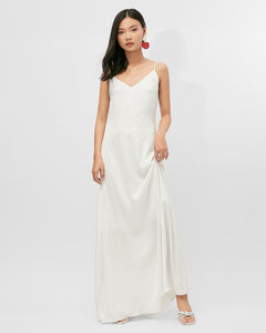 FLOOR LENGTH COWL BACK DRESS BRITNEY