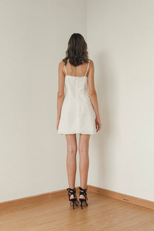 VALERIE MINI SLIP DRESS
