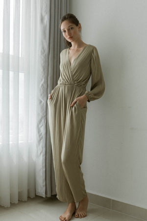RENEE LONG SLEEVES JUMPSUIT