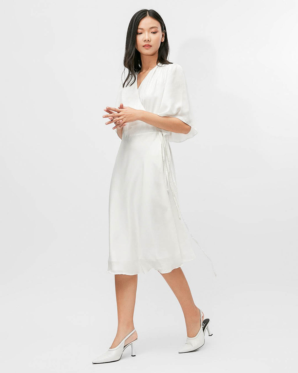 MIDI WRAP DRESS SOPHIA